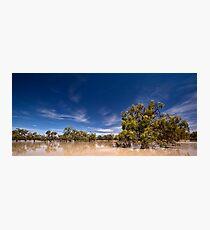 One Perfect Day - Menindee, NSW Photographic Print