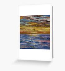 Parfait Sunset Greeting Card