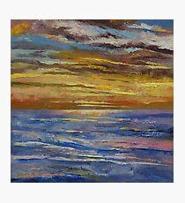 Parfait Sunset Photographic Print
