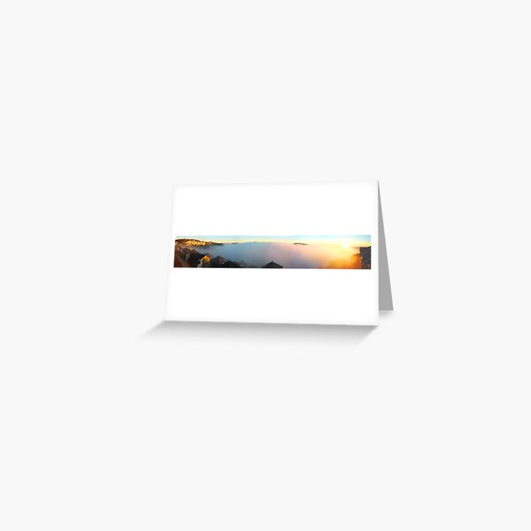 Sunrise at Mt Hotham (Megapan) Greeting Card