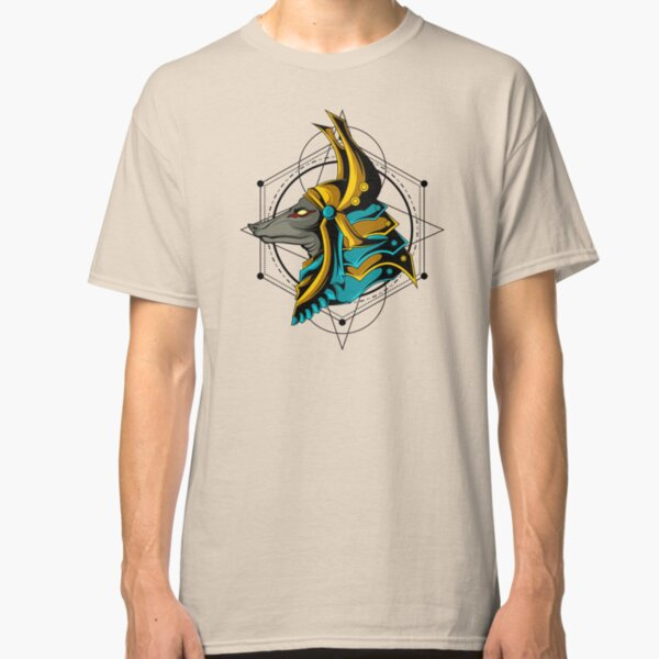 Ancient Egyptian Anubis Egypt God Sacred Geometry Graphic  Classic T-Shirt