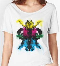Senor Chang paintball montage Women's Relaxed Fit T-Shirt