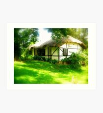 Fairies must live in cottages like these :) Art Print