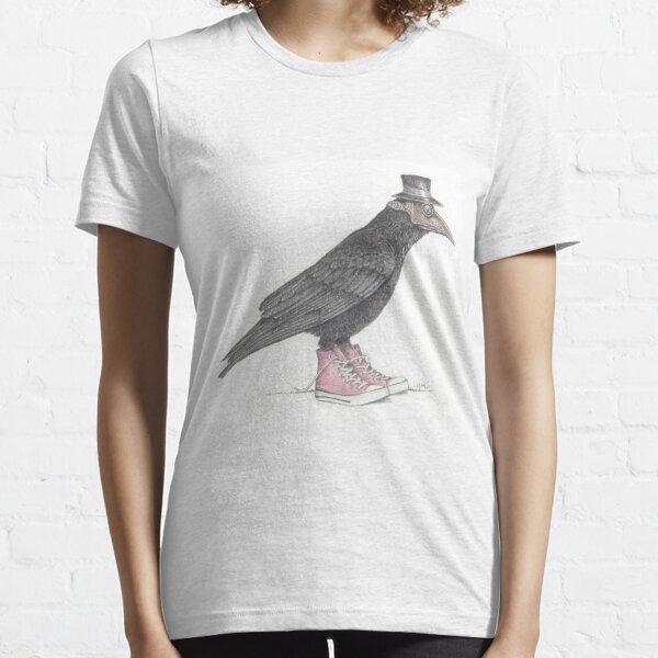 Plague bird in pink high tops Essential T-Shirt