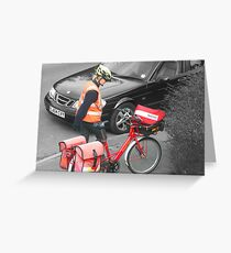Postie Greeting Card
