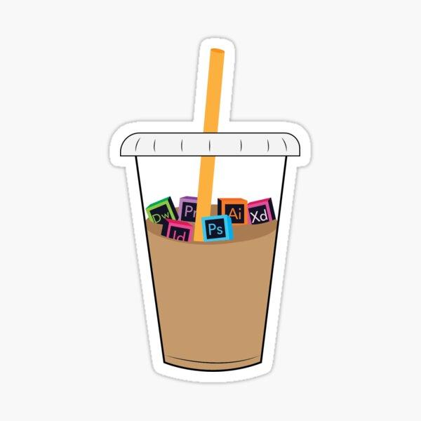 Graphic Designers Coffee Sticker