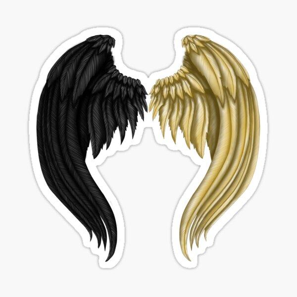 Wings of Balance Sticker