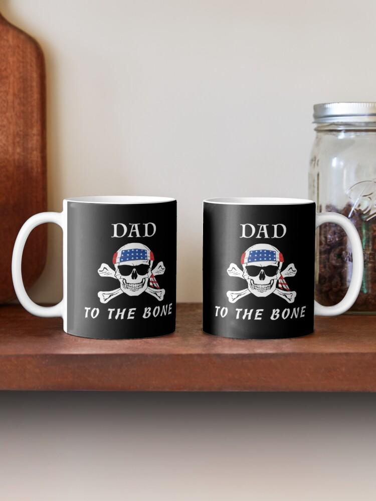 Alternate view of Dad to the Bone Patriarch Raider Fella Humer Garb. Mug