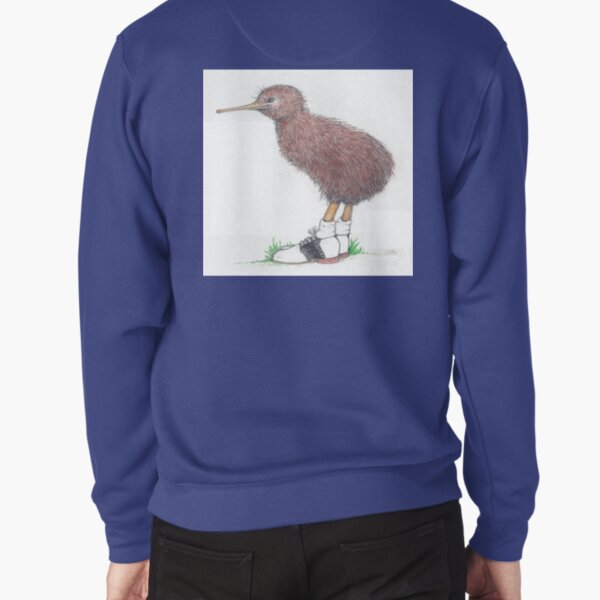 Kiwi in saddle shoes Pullover Sweatshirt