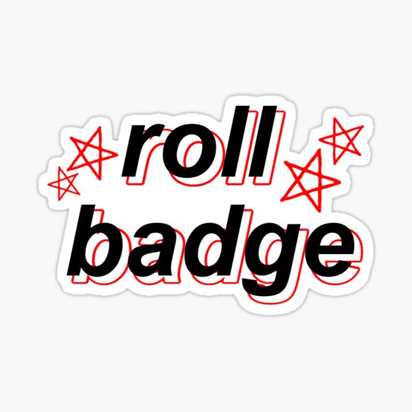 Roll Badge (University of Wisconsin) Sticker