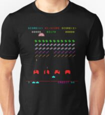 Pencil Case Invaders T-Shirt