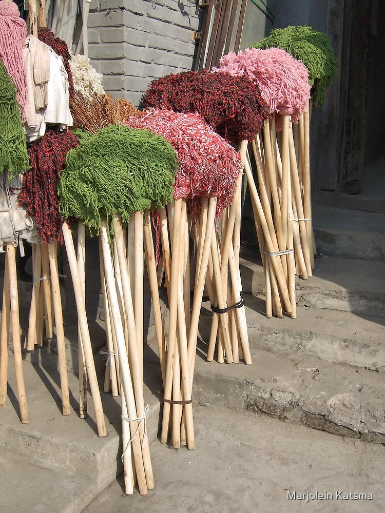 Beijing 2006 - Mops for sale by Marjolein Katsma