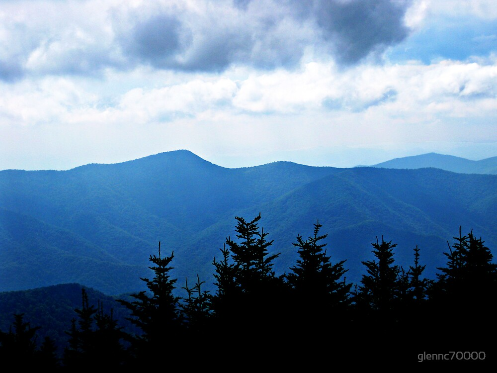 Ridgeline, Blue Ridge Mountains by glennc70000
