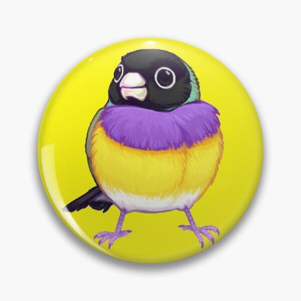 Pride Birds: Gouldian Finch Pin