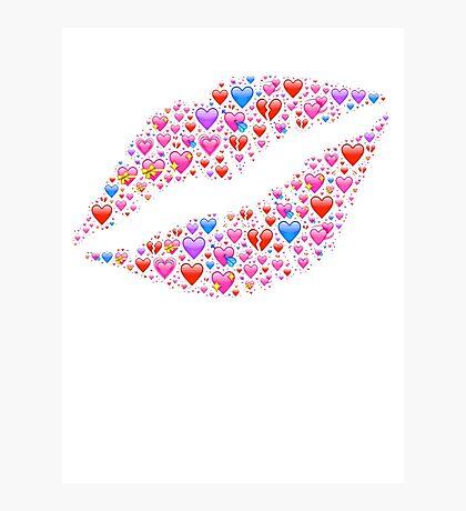 Lips of Love Photographic Print