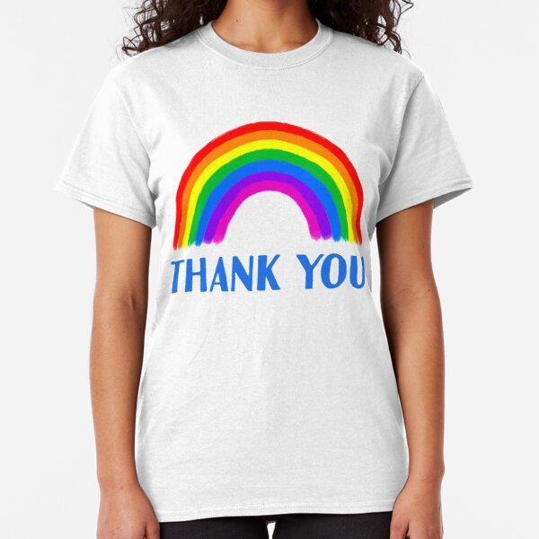 Thank You Rainbow Support | NHS and Keyworkers Classic T-Shirt