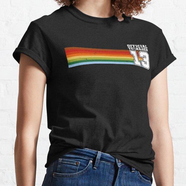 Regalo oficial de cumpleaños número 13 para adolescentes de 13 años Camiseta clásica