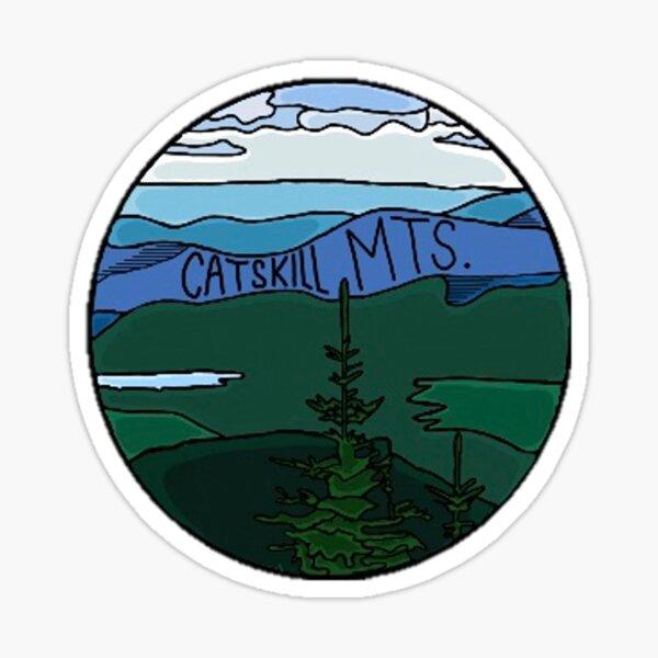 Catskill Mountain Range Sticker