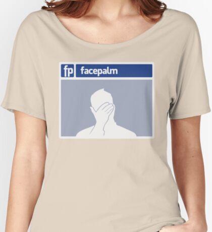Facepalm Women's Relaxed Fit T-Shirt