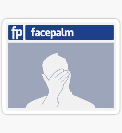 Facepalm Sticker