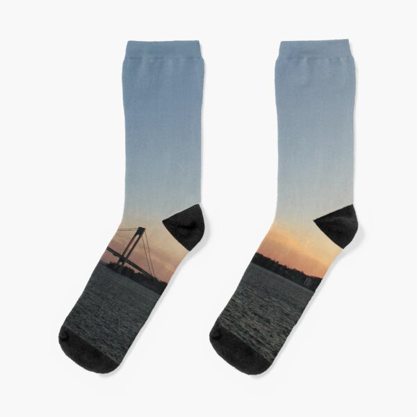 Suspension bridge Socks
