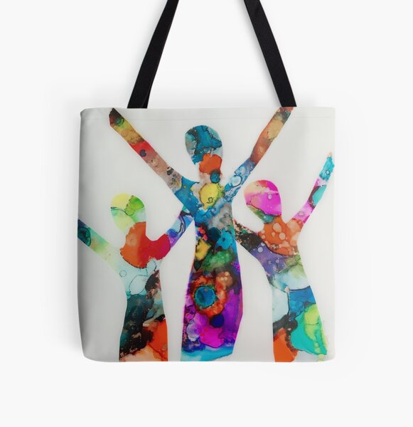 We Are Free All Over Print Tote Bag
