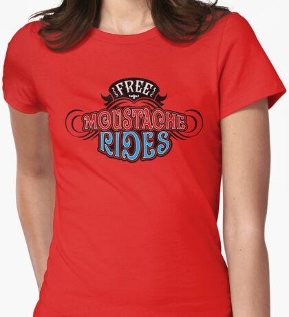 Free Moustache Rides T-Shirt