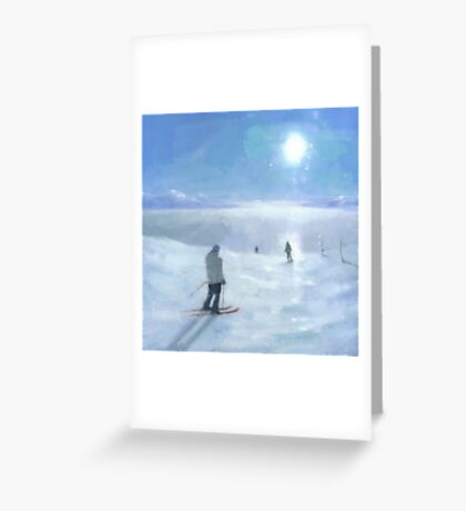Islands in the Cloud Greeting Card