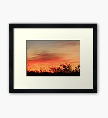 Angels Brush Framed Print