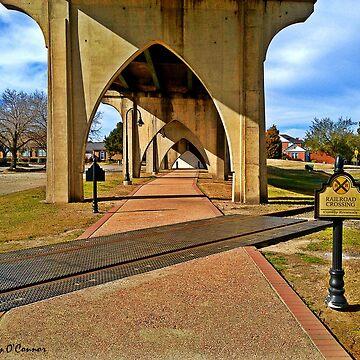 Underneath Main Street Bridge in Conway South Carolina by JoeyOConnor