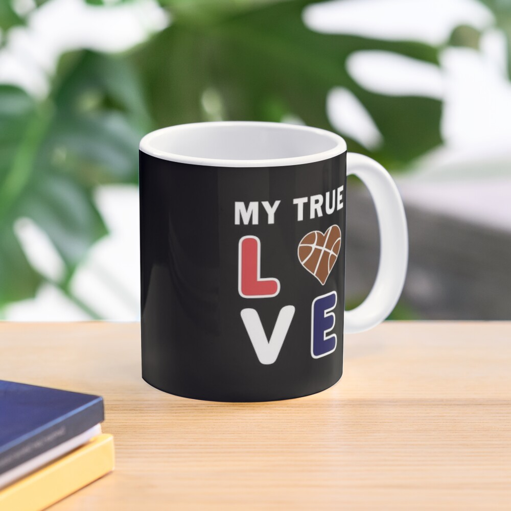Bball My True Love Practice Hoops Bballer Coach. Mug