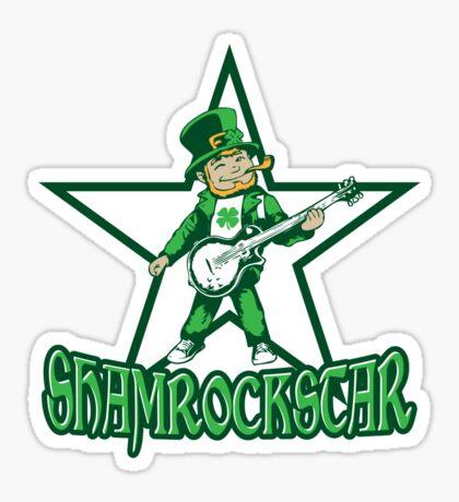 ShamRockStar Sticker
