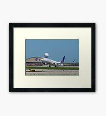 N33294 United Rotation Framed Print