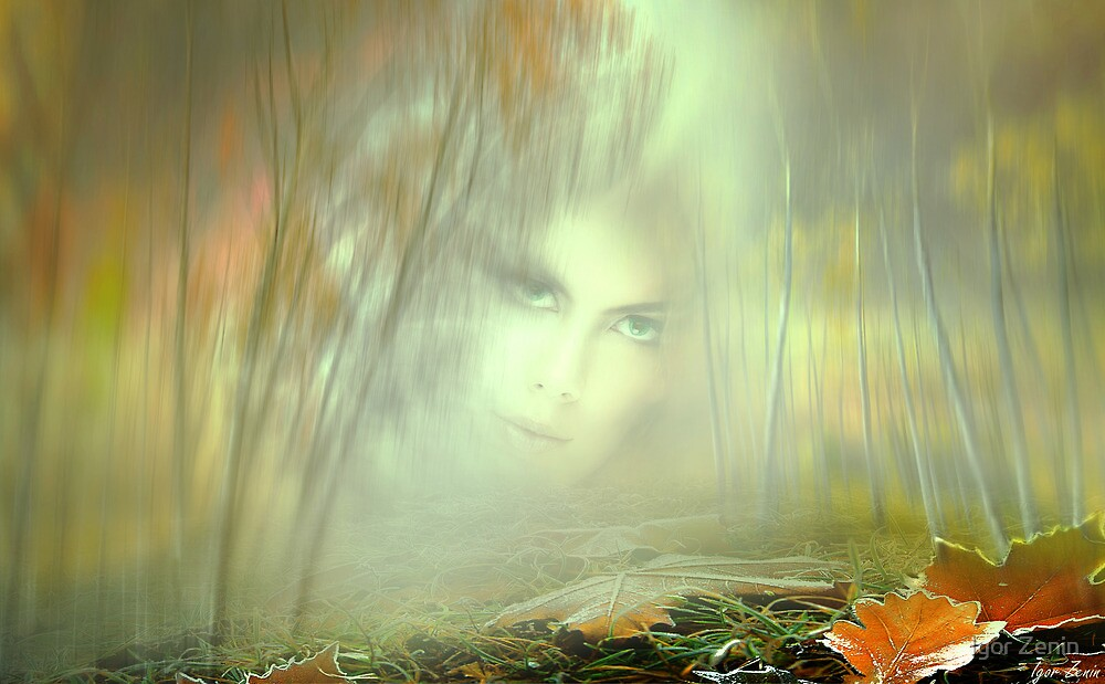 Autumn Portrait by Igor Zenin