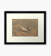 N75428 United Continental Airlines Boeing 737-924ER Framed Print
