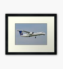 United Express N34NG DHC-8-402Q Framed Print