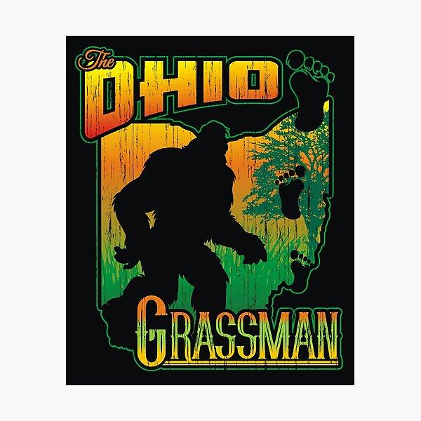 Ohio Grassman Photographic Print