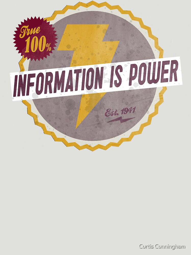 Information Is Power by cupacu