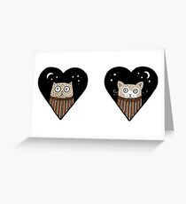 Quirky Love Greeting Card
