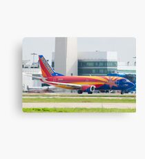 Holding N383SW Boeing 737-7H4 Southwest Airlines Arizona One Canvas Print