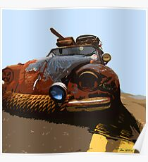 VW RAT Beetle Poster