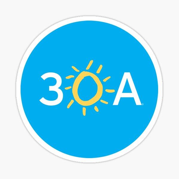 30a sticker Sticker