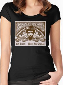 Zoltar Speaks Women's Fitted Scoop T-Shirt