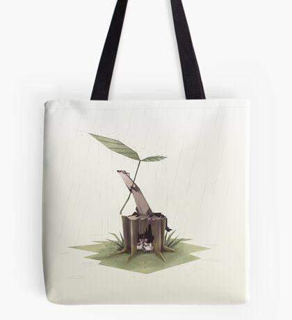 Ferrets in the rain Tote Bag