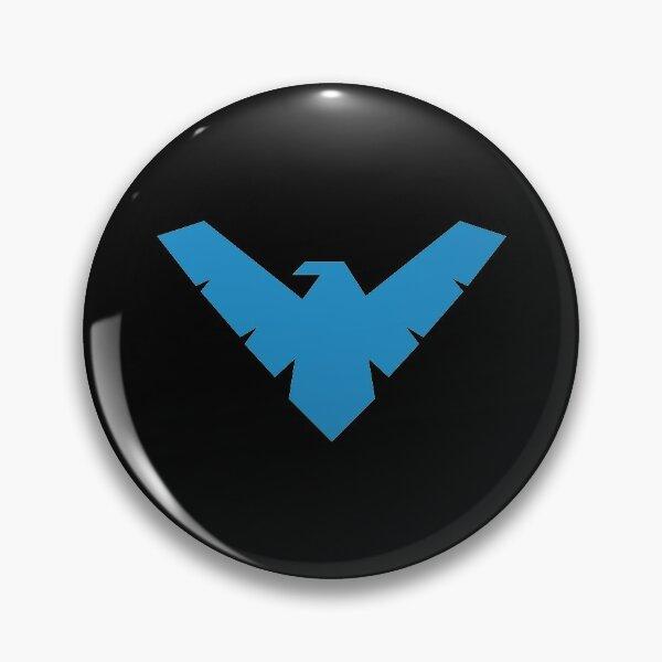 Simple Nightwing Pin