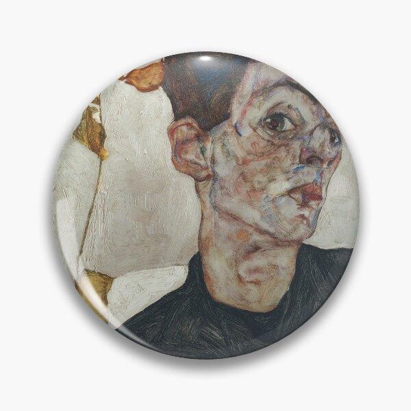 Egon Schiele - Autorretrato Chapa