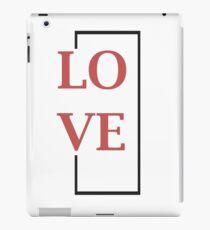 Rectangle Love iPad Case/Skin