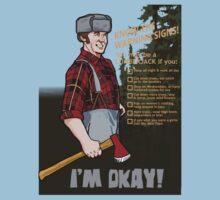 Lumberjack warning! | Unisex T-Shirt