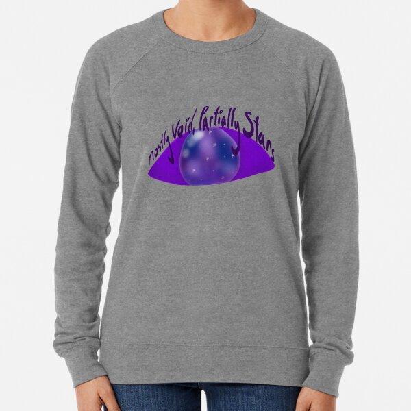 Mostly Void, Partially Stars Lightweight Sweatshirt