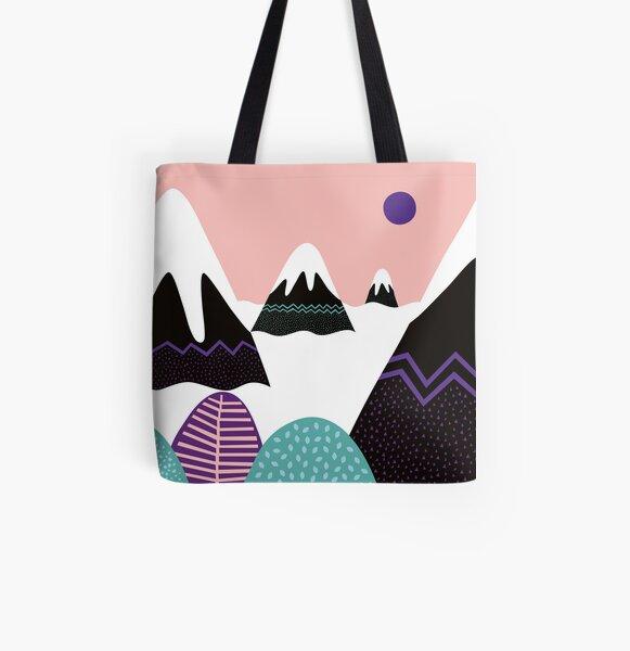 Fantasy Landscape All Over Print Tote Bag
